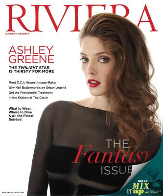 Эшли Грин на обложке журнала «Ривьера»