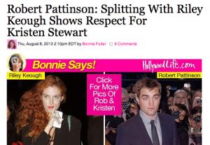 HollywoodLife дал задний ход в лжеистории о Роберте Паттинсоне