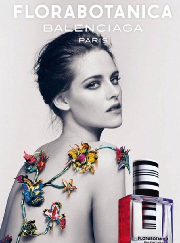 Обнаженная Кристен Стюарт в рекламе аромата Balenciaga