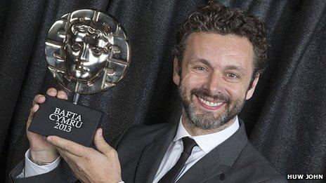 Майкл Шин получил премию BAFTA Cymru