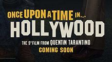Первый постер к фильму Квентина Тарантино «Однажды в Голливуде»